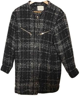 IRO Black Wool Coats