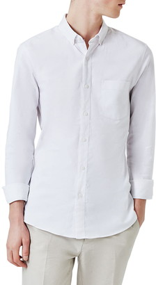 Topman Muscle Fit Oxford Shirt