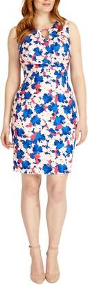 Studio 8 Lorelai Floral Print Dress, Blue