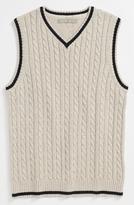 Nordstrom 'Anthony' Cable Knit Vest (Little Boys & Big Boys)