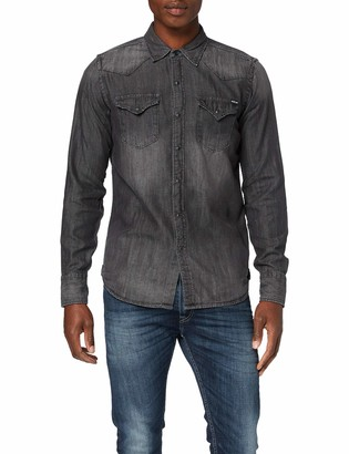 Replay Men's M4860z.000.106 513 Denim Shirt