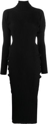 Bottega Veneta Ribbed Knitted Dress