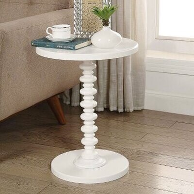Thumbnail for your product : Alcott Hill Denham Pedestal End Table