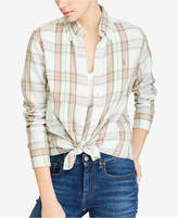 Polo Ralph Lauren Classic-Fit Plaid Cotton Shirt