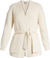 Acne Studios Beate Chunky cotton-blend cardigan