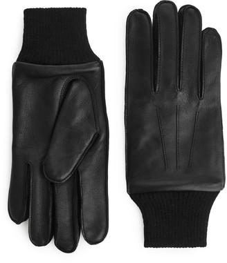 Arket Leather A-10 Flight Gloves