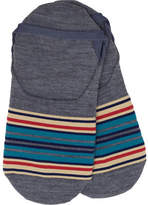 Pendleton Serape Stripe Moc Sock (2 Pairs)