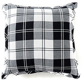 Daniel Cremieux Ramsey Plaid Flannel Square Feather Pillow