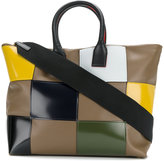 Marni patchwork tote - women - Calf Leather - One Size