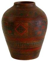 "Novica Labyrinth"" Aged Cuzco Vase"