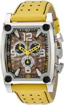 Akribos XXIV Men's AK415YL Conqueror Swiss Quartz Yellow Chronograph Watch