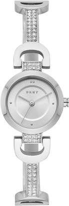 DKNY Silver Dial Stainless Steel Watch