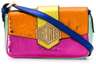 Kurt Geiger Metallic Colour-Block Bag