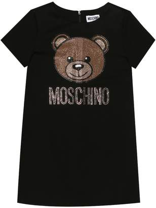 Moschino Kids Embellished dress