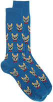 Hot Sox Men's Frenchie Men's Crew Socks