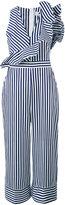 MSGM striped jumpsuit