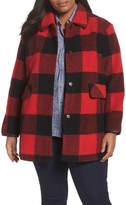 Pendleton Paul Bunyan Plaid Wool Blend Barn Coat (Plus Size)