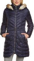 Dawn Levy 2 Down Coat with Zip-Out Fur Hood-S
