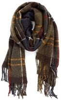 Barbour Women's Tartan Boucle Scarf