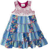 Rare Editions Sleeveless Patchwork Dress - Preschool Girls 4-6x