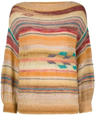 Forte Forte Striped Draped Jumper