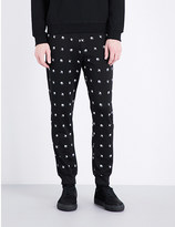 McQ by Alexander McQueen Swallow-print jersey jogging bottoms