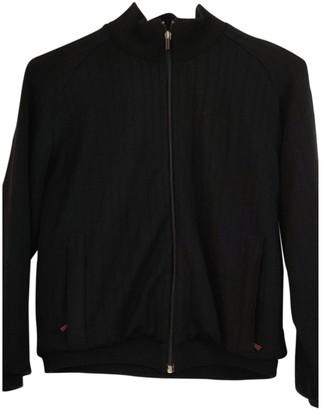 Burberry Black Wool Jackets