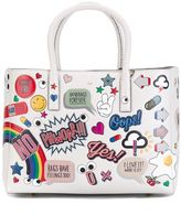 Anya Hindmarch 'All Over Stickers' tote - women - Calf Leather - One Size