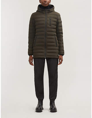Moose Knuckles Rockcliff quilted shell-down hooded coat