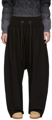 Fumito Ganryu Black Parkour Lounge Pants