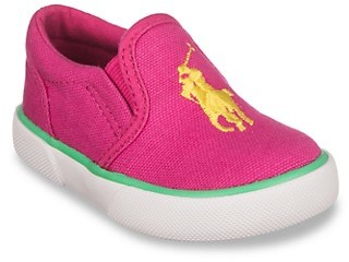 Polo Ralph Lauren Baby Girl's Little Girl's Bal Harbor II Canvas Sneakers