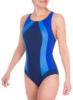 Roots One-Piece Colourblock Swimsuit