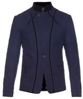 Haider Ackermann Wool and velvet jacket