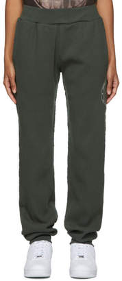 Telfar Green Thermal Long Johns Lounge Pants