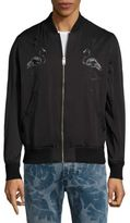 Diesel Flamingo Embroidered Bomber Jacket