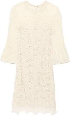 Kate Spade Layered Guipure Lace Mini Dress