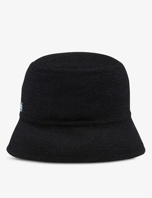 Prada Logo-print cashmere bucket hat