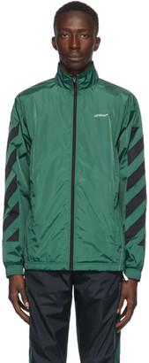 Off-White Green Nylon Jacket