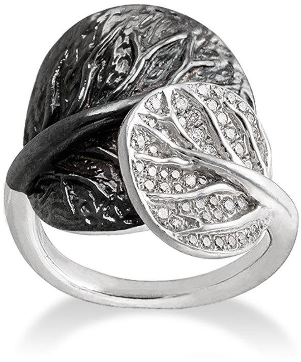 Michael Aram Botanical Double-Leaf Ring