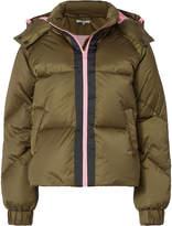 Ganni Vandalia Olive Puffer Jacket