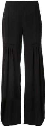 Chloé wide leg pleated trousers