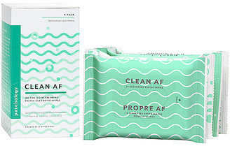 Patchology Clean AF Facial Cleansing Wipes 4 Pack