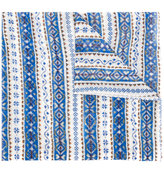 Stella McCartney jacquard pattern scarf