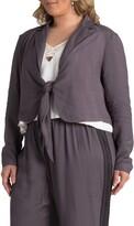 Standards & Practices Tie Front Jacket