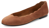 French Sole Teardrop Ballet Flat