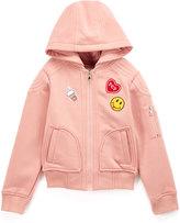 Urban Republic Peach Zip-Up Hoodie - Infant & Girls