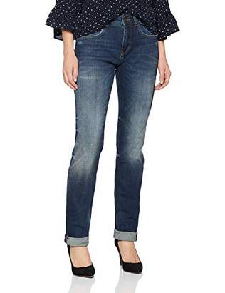 M·A·C MAC Women's Straight Jeans, (Authentic Blue Dirty Washed D807), 34W x 32L
