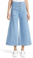 Marc Jacobs Women's High Waist Crop Flare Jeans