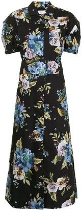Erdem Frederick floral-print midi dress