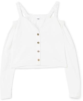 Bogdar Off-The-Shoulder Organic Cotton Shirt